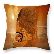 Broken Hill 3 Throw Pillow