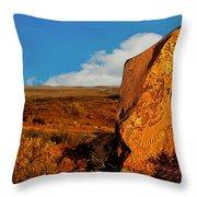Broken Hill 4 Throw Pillow