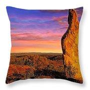 Broken Hill 5 Throw Pillow