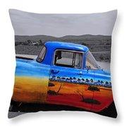 Broken Hill 9 Throw Pillow