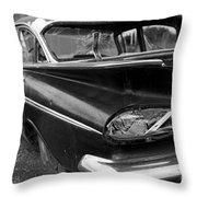 Broken Impala Throw Pillow