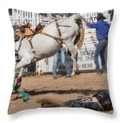 Bronco Bucks Cowboy Throw Pillow