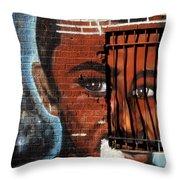 Bronx Graffiti - 2 Throw Pillow