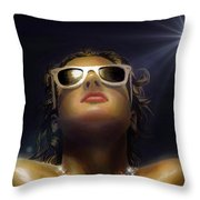 Bronze Beauty - Featured In Comfortable Art Group Throw Pillow