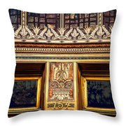 Bronze Crowns Throw Pillow