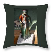 Bronze Dancer Throw Pillow