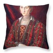 Bronzino's Eleonora Di Toledo Throw Pillow
