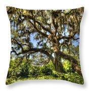 Brookgreen Gardens Throw Pillow