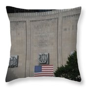 Brooklyn Battery Tunnel Throw Pillow