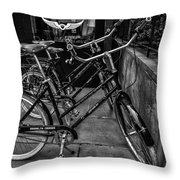Brooklyn Cruiser Throw Pillow