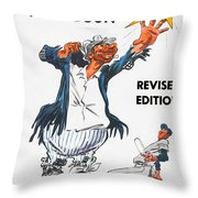 Brooklyn Dodgers 1955 Yearbook Throw Pillow