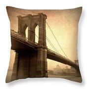 Brooklyn Nostalgia II Throw Pillow