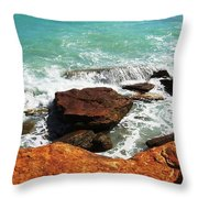 Broome Breaks Throw Pillow
