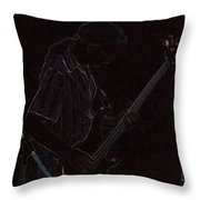 Brother Bassist Throw Pillow