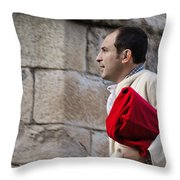 Brother In Zamora Throw Pillow