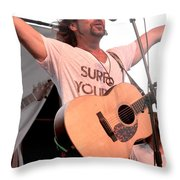 Brother Joscephus And The Love Revival Revolution Orchestra Throw Pillow