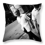 Brother Keeper Throw Pillow