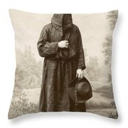Brotherhood Of Mercy Throw Pillow