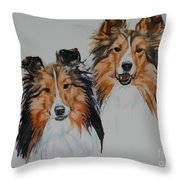 Brothers Throw Pillow