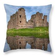 Brough Castle Throw Pillow