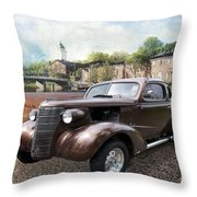 Brown Classic Collector Throw Pillow