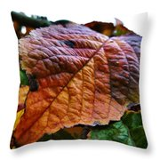 Browned Off  Throw Pillow
