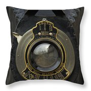 Brownie Autographic No. 3-a - D008931 Throw Pillow by Daniel Dempster