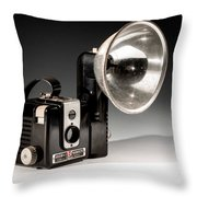 Brownie Hawkeye Throw Pillow