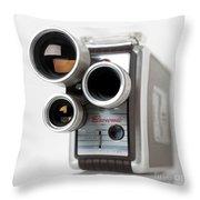 Brownie Movie Camera Throw Pillow