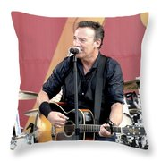 Bruce Springsteen 12 Throw Pillow