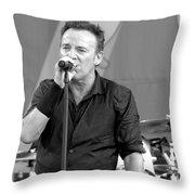 Bruce Springsteen 14 Throw Pillow