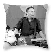 Bruce Springsteen 3 Throw Pillow