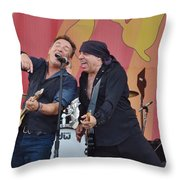 Bruce Springsteen 9 Throw Pillow