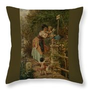 Bruckenzoll Throw Pillow