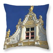Bruges Architecture Throw Pillow