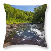 Brule River 1 Throw Pillow