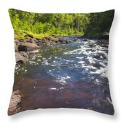 Brule River 2 Throw Pillow