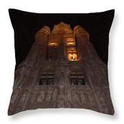 Brussels Town Hall Throw Pillow