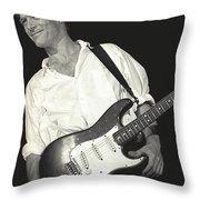 Bryan Adams Throw Pillow