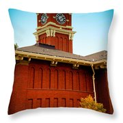 Bryan Hall At Washington State University Throw Pillow