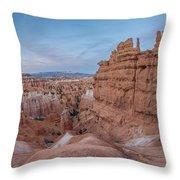 Bryce Amphitheater Fisheye View Throw Pillow