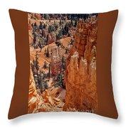 Bryce Canyon 02 Throw Pillow