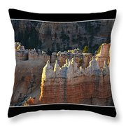 Bryce Canyon At Sunrise Throw Pillow
