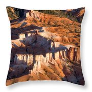 Bryce Canyon From The Air Throw Pillow