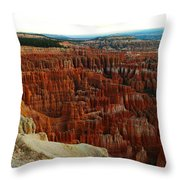 Bryce Canyon In The Afternoon Throw Pillow