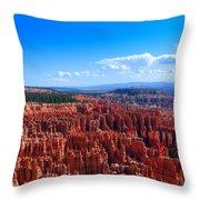 Bryce Canyon Vista Throw Pillow