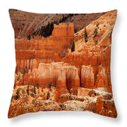 Bryce Canyon Landscape Throw Pillow