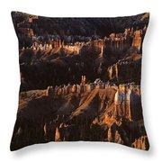 Bryce Canyon National Park Hoodo Monoliths Sunrise Southern Utah Throw Pillow