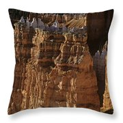 Bryce Canyon National Park Hoodo Monoliths Sunset From Sunrise P Throw Pillow