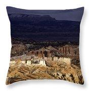 Bryce Canyon National Park Hoodo Monoliths Sunset Southern Utah  Throw Pillow